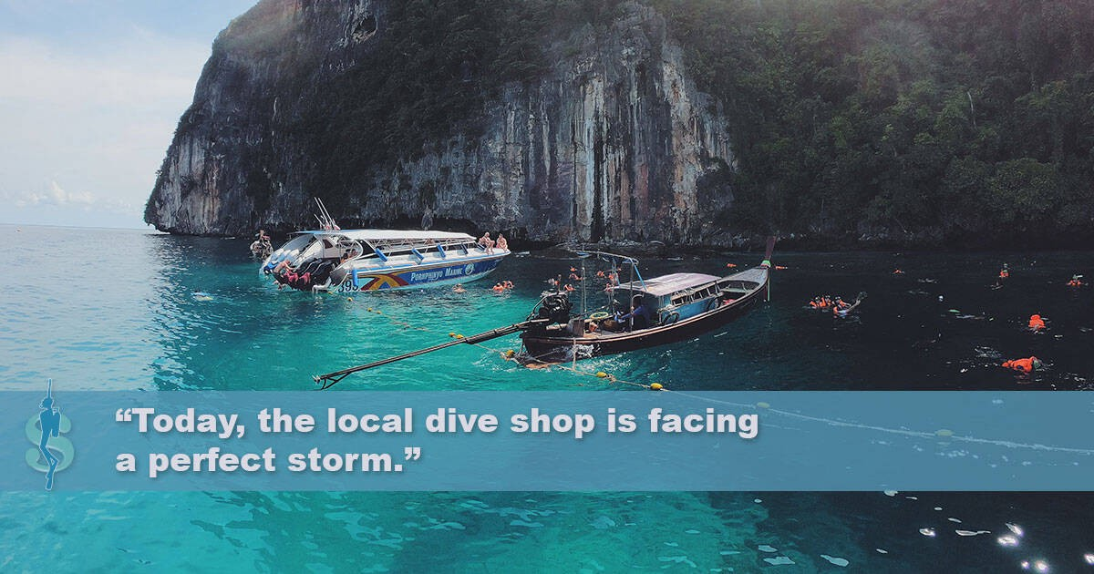 Local dive shops and scuba diving resorts: What's the same? What's different?