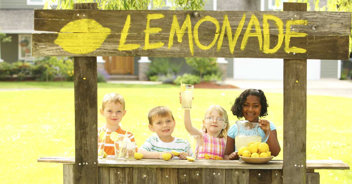 Every Analyst Needs Their First Lemonade Stand – Charting Ahead