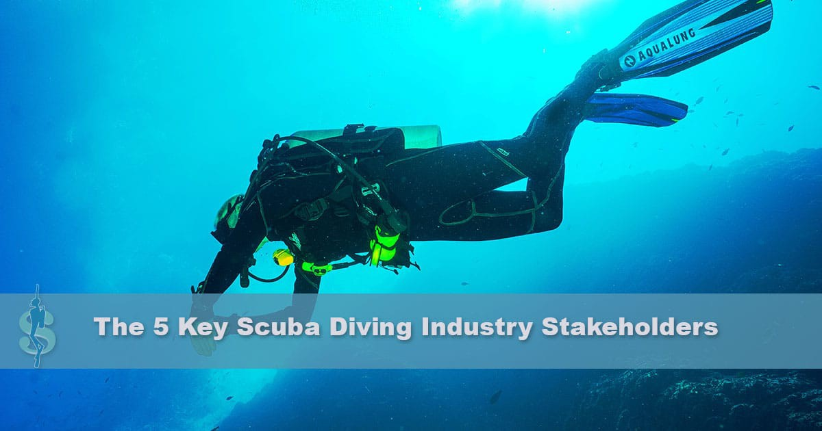 Training agencies, gear manufacturers, dive centers, independent scuba diving instructors, travel agencies