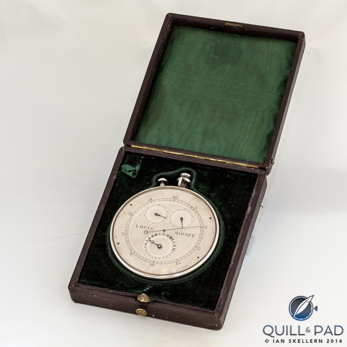 Louis Moinet Compteur de Tierces: finished in 1817, it is the world's first chronograph