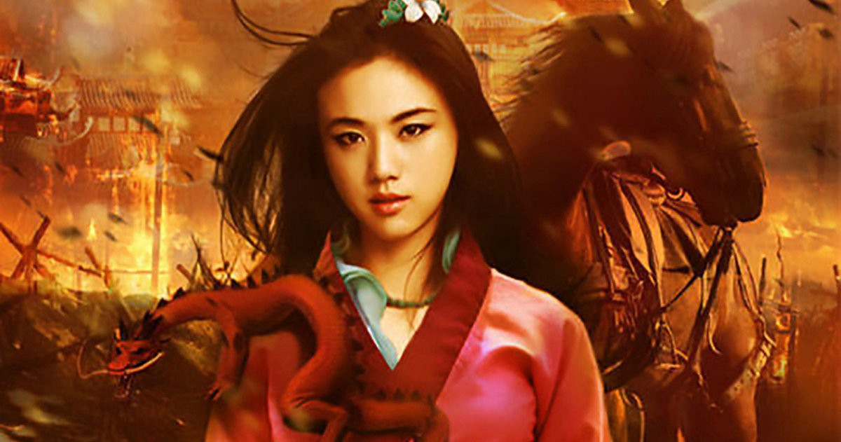 Stunning Liu Yifei Mulan Disney Movie Wallpaper By Tanvir Islam Medium