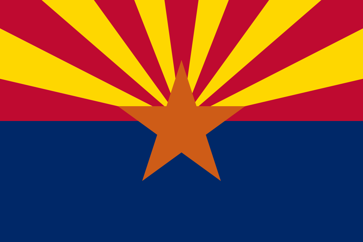 The Arizona state flag