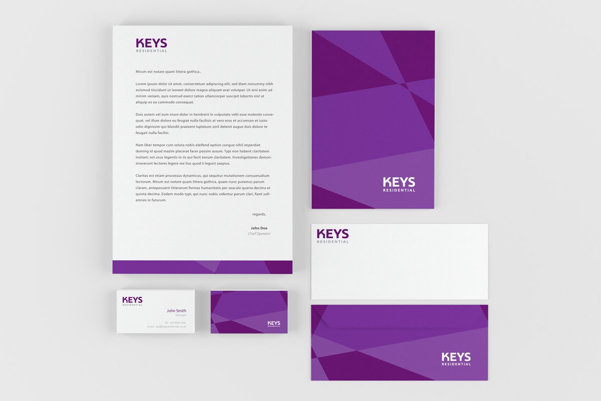 UK Company Rebranding Corporate Stationery Services