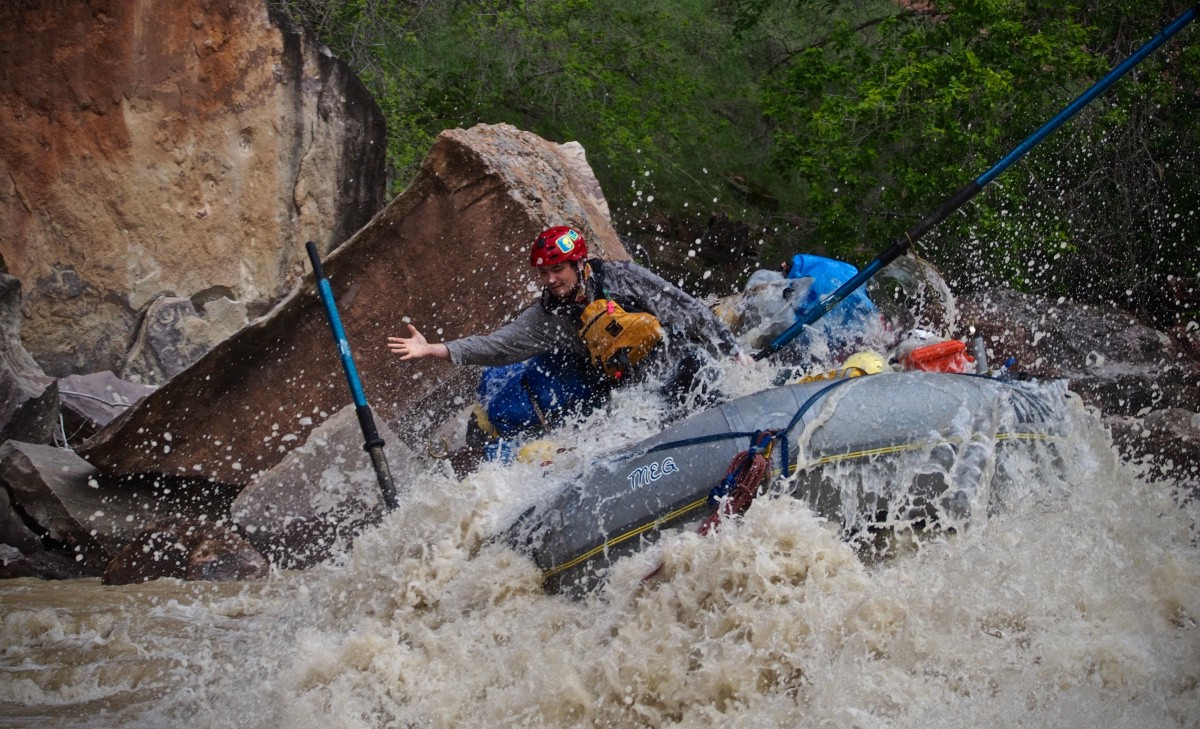 I spent five days rafting the Yampa river with Dinosaur