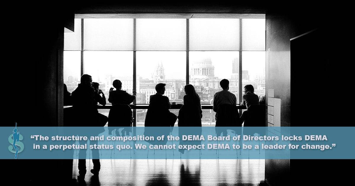 What is DEMA? Who is DEMA? DEMA Board of Directors, PADI's Influence, Services Offered by DEMA