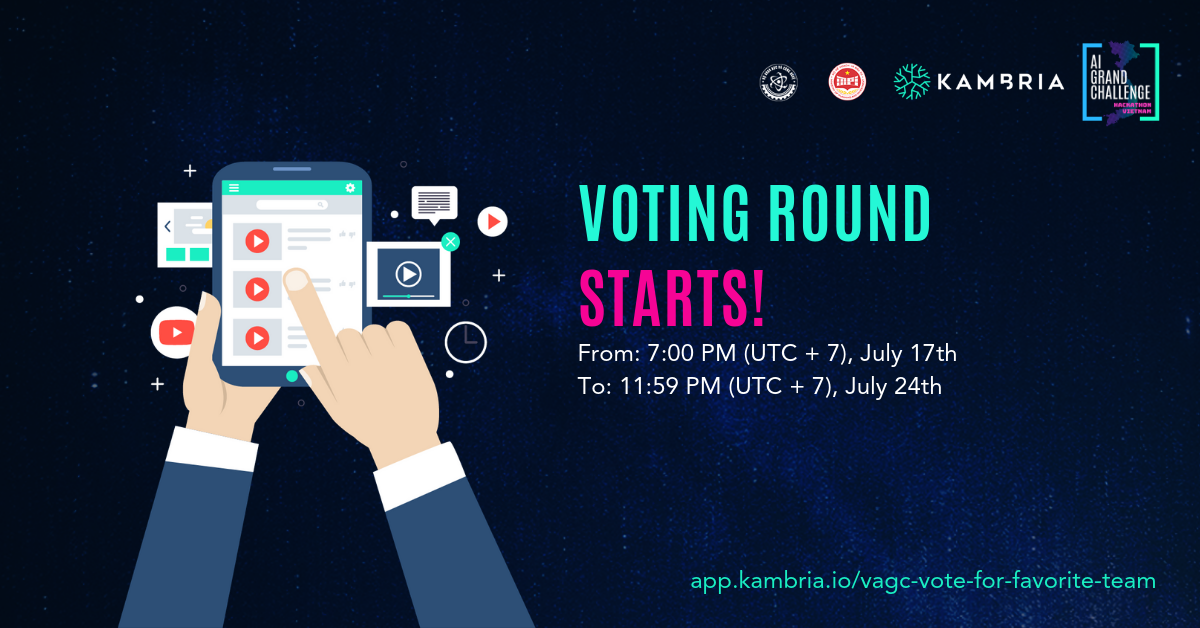 Vietnam AI Grand Challenge Community Voting Begins!