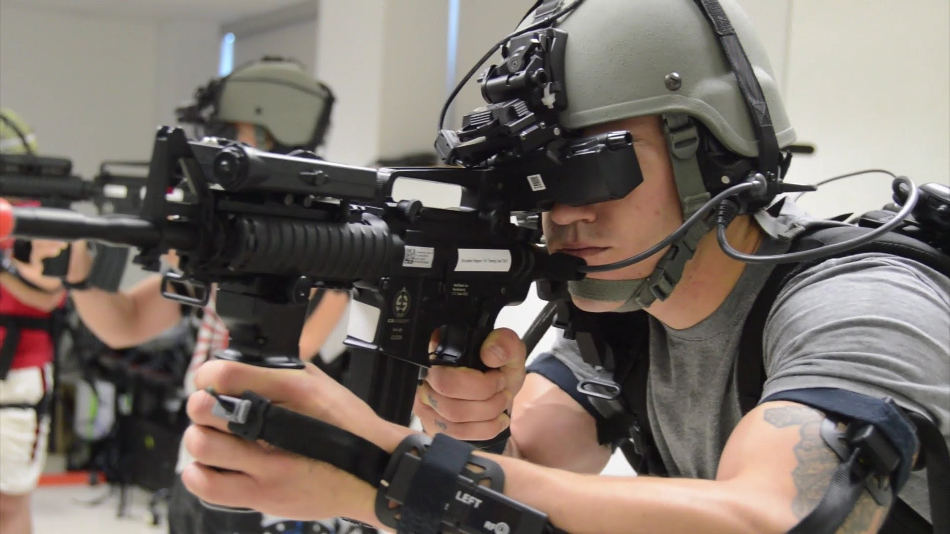 Pew Pew: Virtual Reality and the military