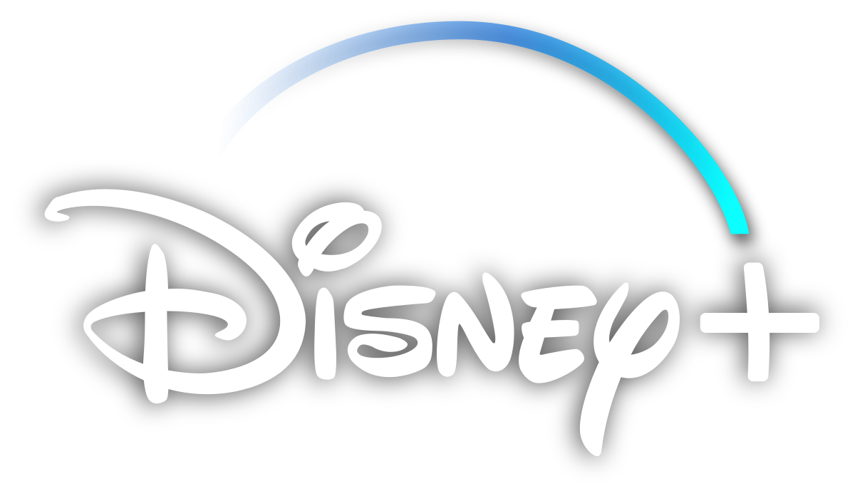 The Disney plus logo with a transparent background.