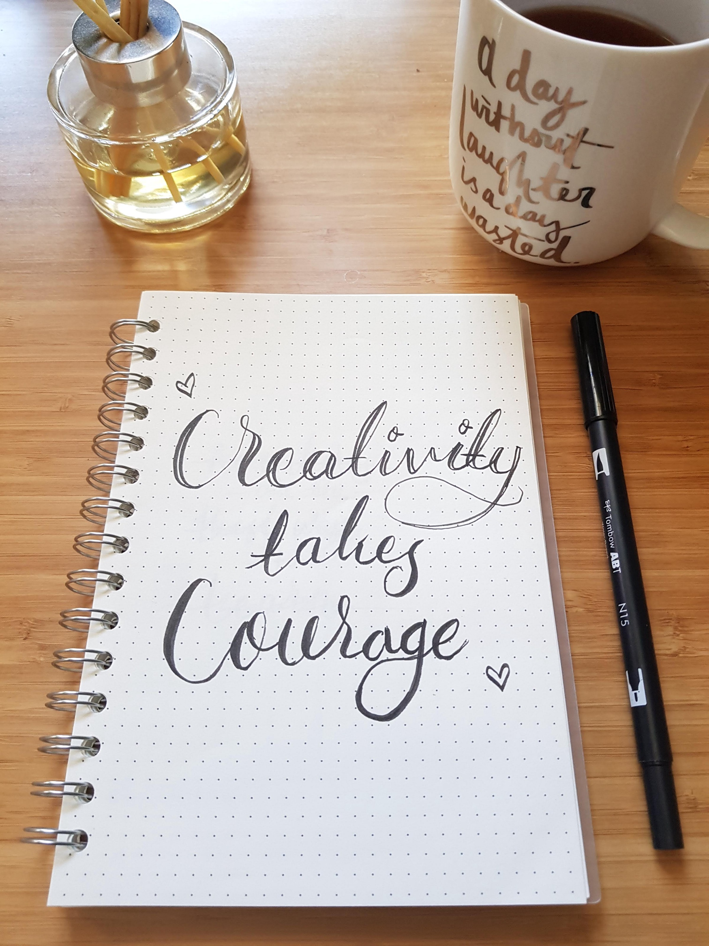 Creative Writing prompt, takes courage