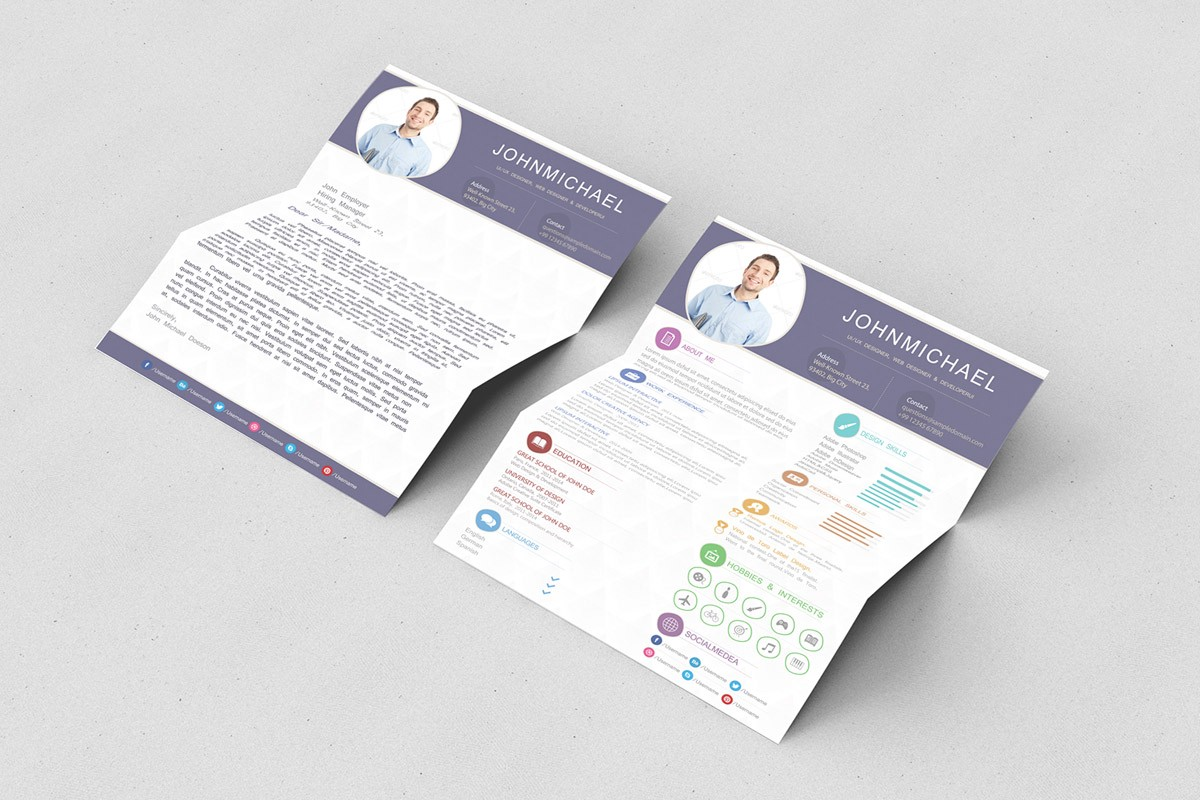 Free Resume And Cover Letter Templates from miro.medium.com
