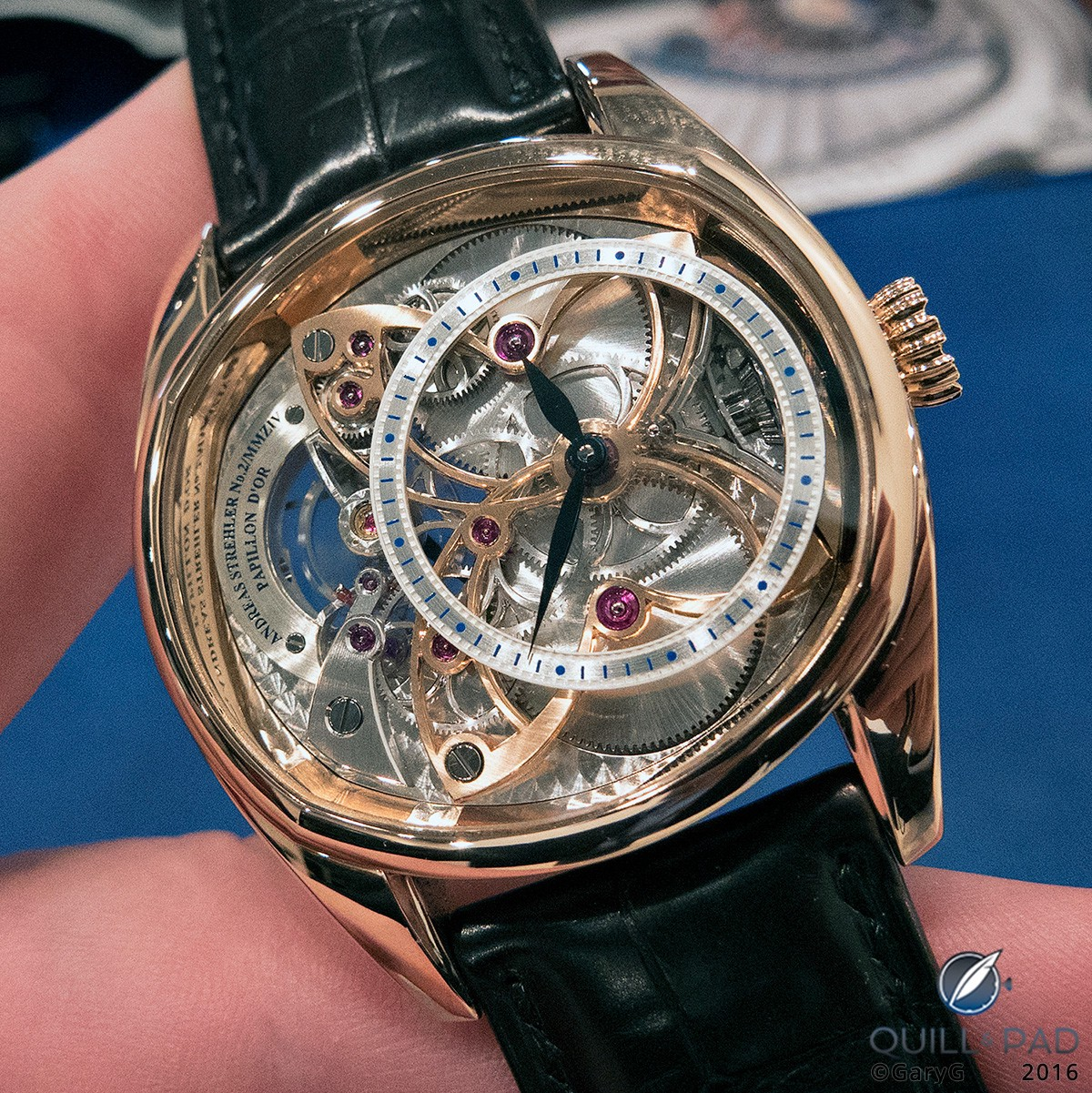 Papillon d'Or by Andreas Strehler
