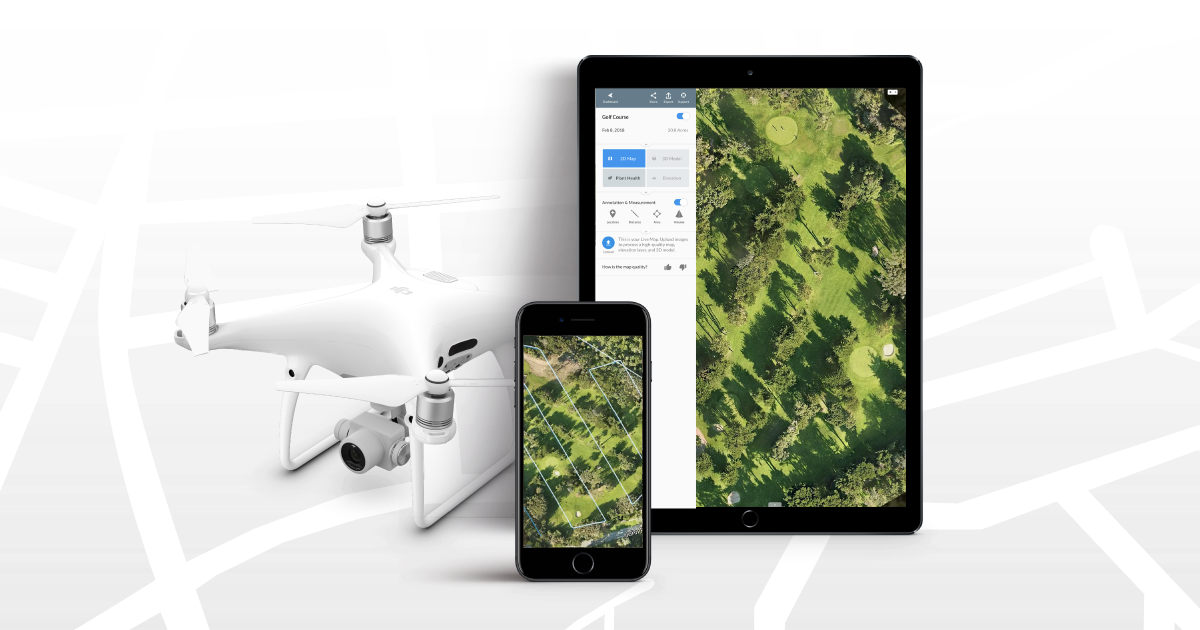 Introducing Live Map: Make Real-Time Drone Maps with your