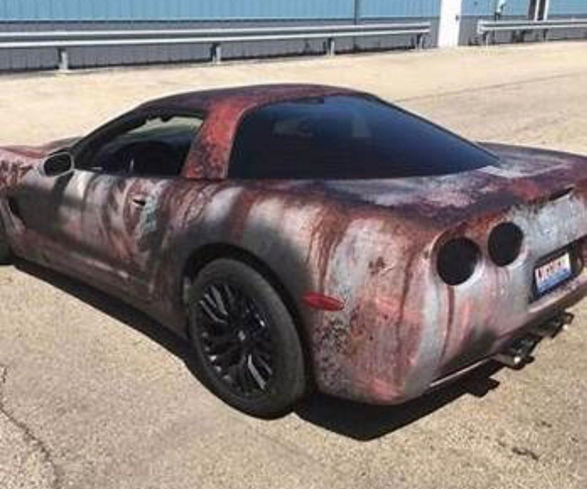 Automotive Rewind The Wildest Rust Wrapped Cars By Sam Maven Motorious Medium