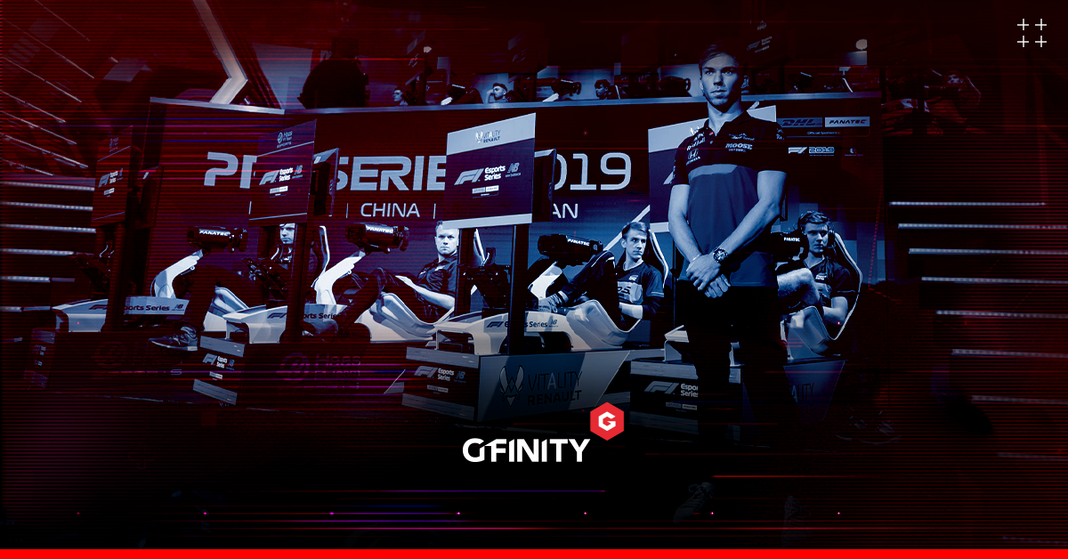 esports partnership between Gfinity and Formula 1