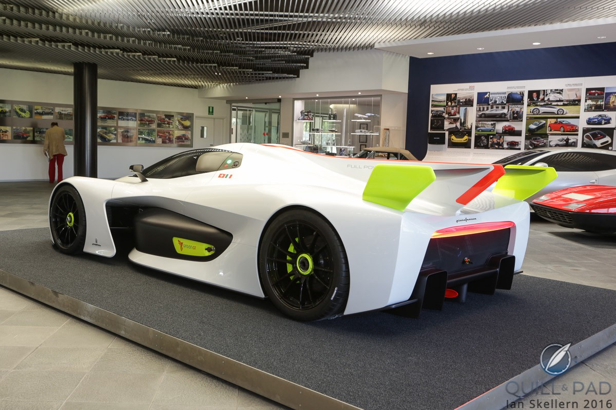 Pininfarina's H2 Speed is a hydrogen-powered supercar that took the award for Best Concept Car at the 2016 Geneva Motor Show