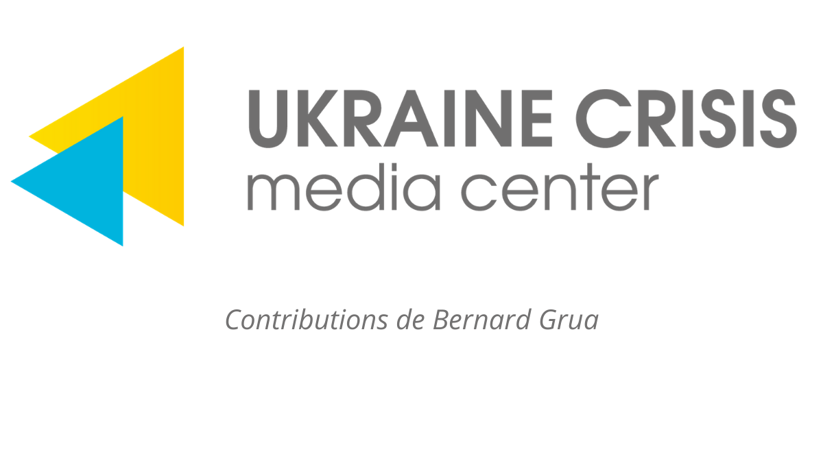 Bernard Grua, articles for Ukraine crisis media center