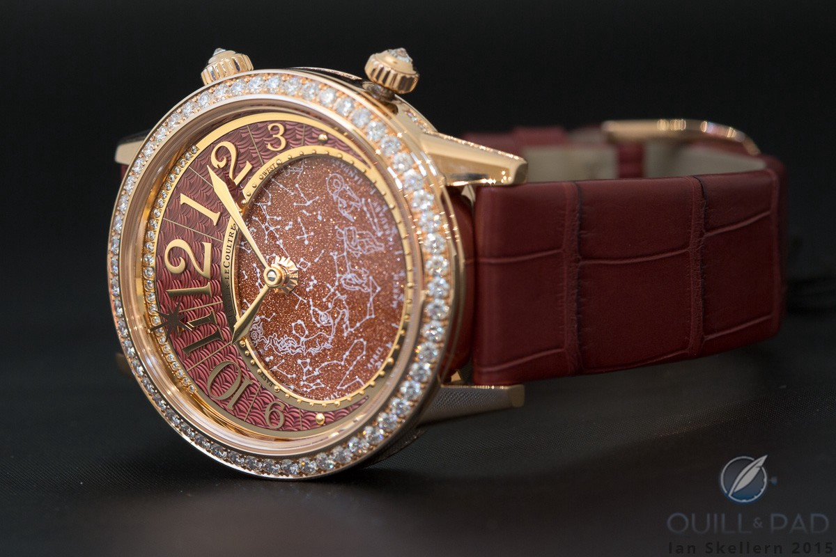 Scintillating Rendez-Vous Celestial with red aventurine by Jaeger-LeCoultre