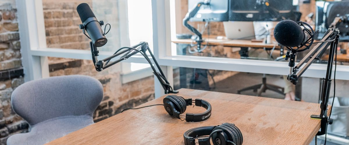 Podcast hosting should also be set up with your pseudonym