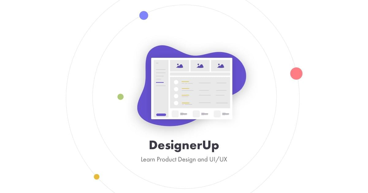 Learn Product Design and UX/UI from Designer up