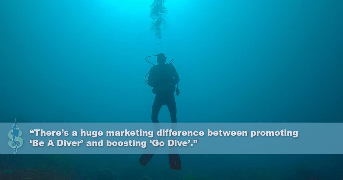 Scuba Diving Participation Rate: Comparing scuba diving to snorkeling, swimming, and stand-up paddling
