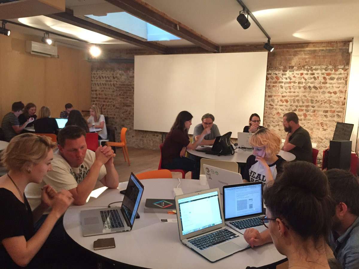 Fantastic coding tonight! Great to see you all. Thanks for coming and thanks @68MiddleSt & @clearleft for having us.