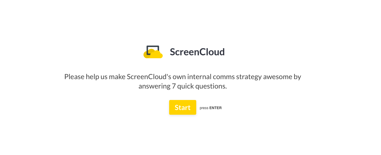 How we Built our Company TV Channel at Screencloud