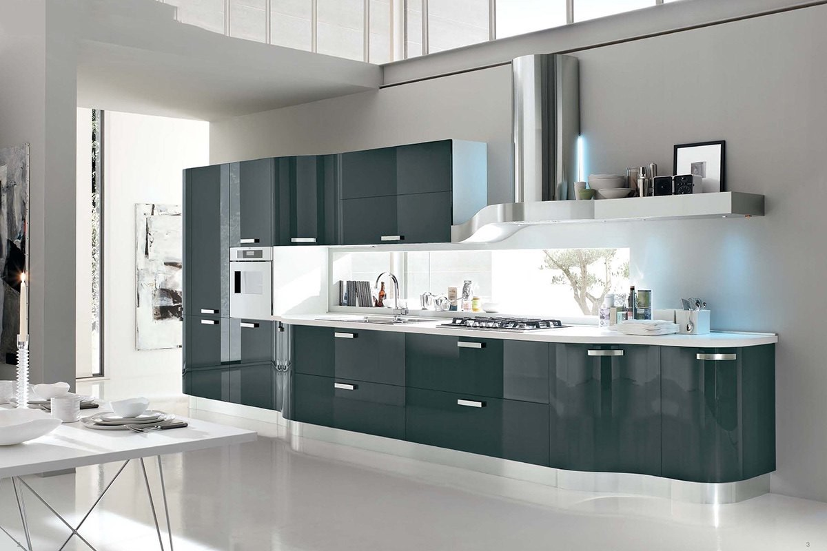 Top 10 modern kitchens: the most popular Italian brands in the UK