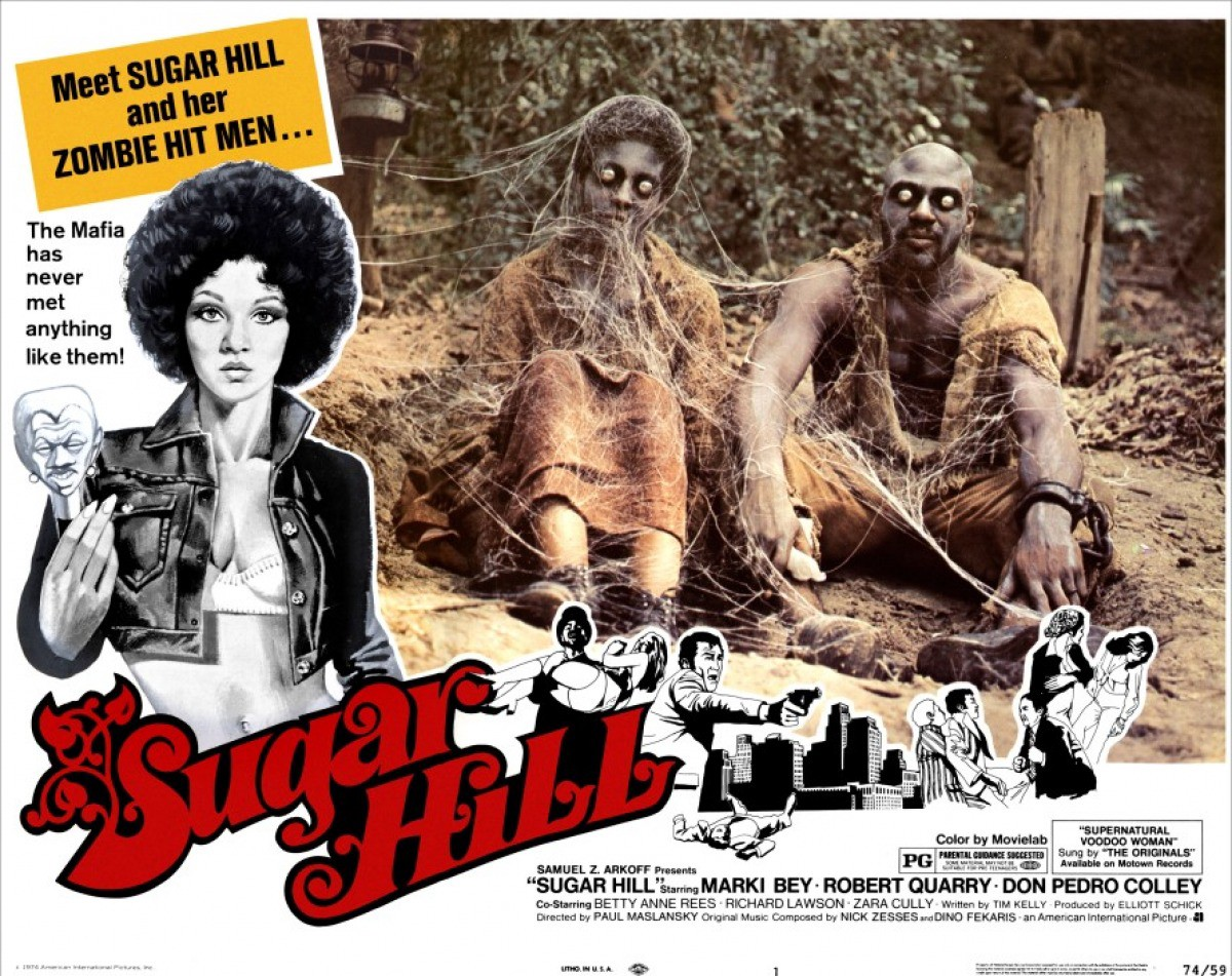 31 Days of Feminist Horror Films: SUGAR HILL - The Black