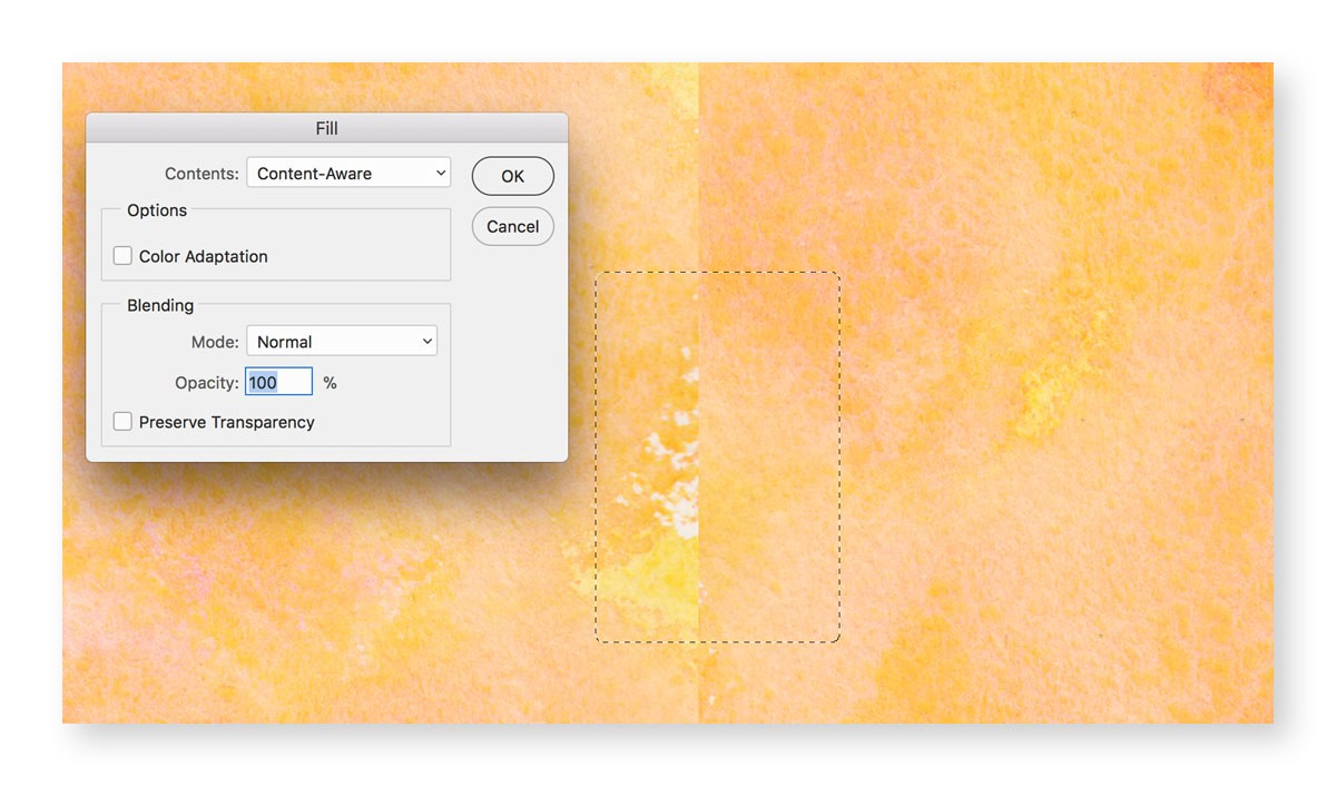 How to Create a Seamless Watercolor Texture in Photoshop