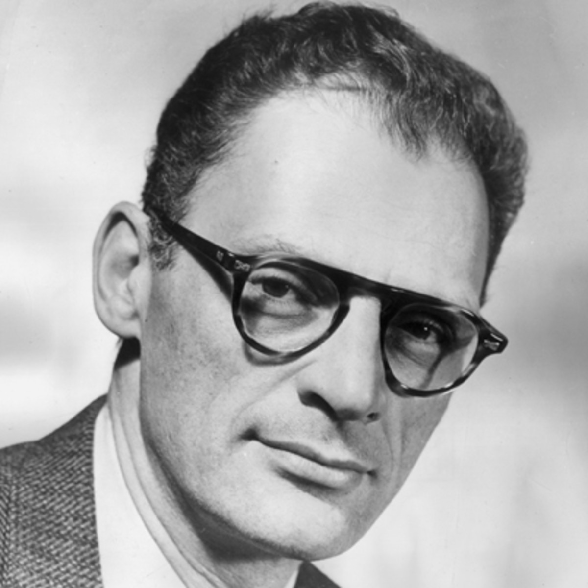 Arthur Miller, the writer of the play 'The Crucible'. Image taken from: https://www.biography.com/writer/arthur-miller