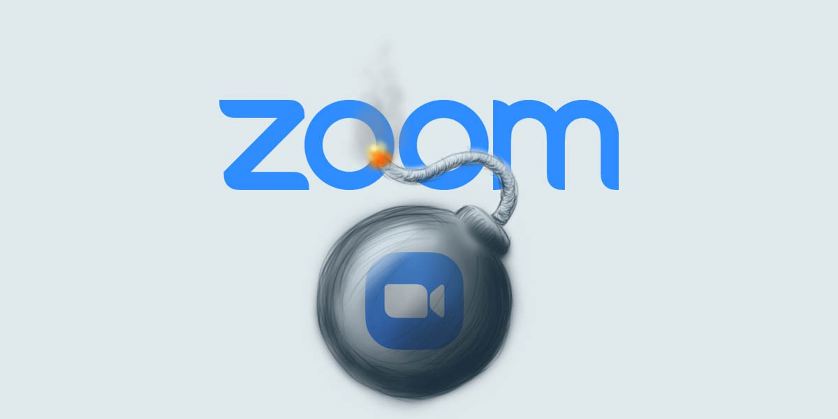 Case study of Zoombombing