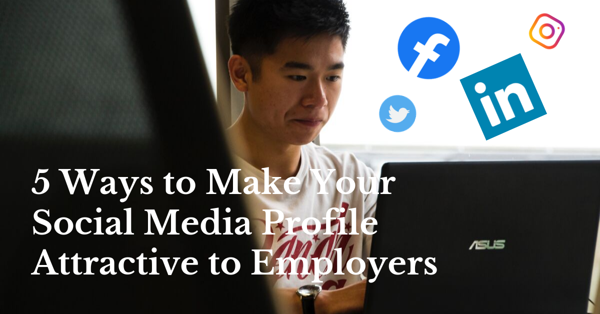 5 ways to make your social media profile attractive to