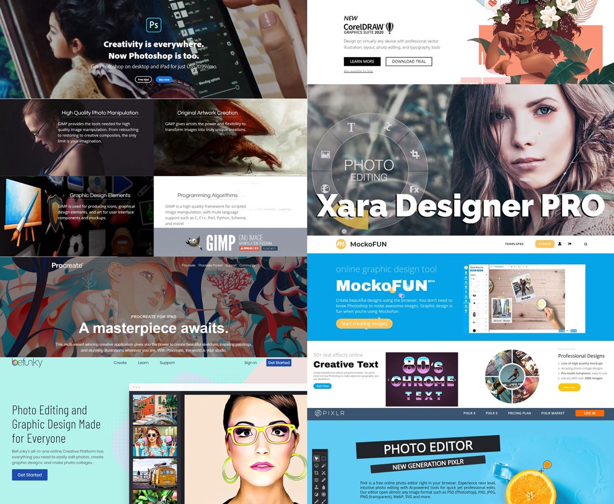 What is the best graphic design software in 2020?