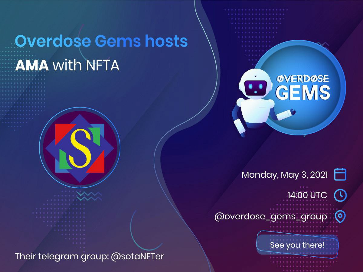 AMA with Overdose Germs by NFTA
