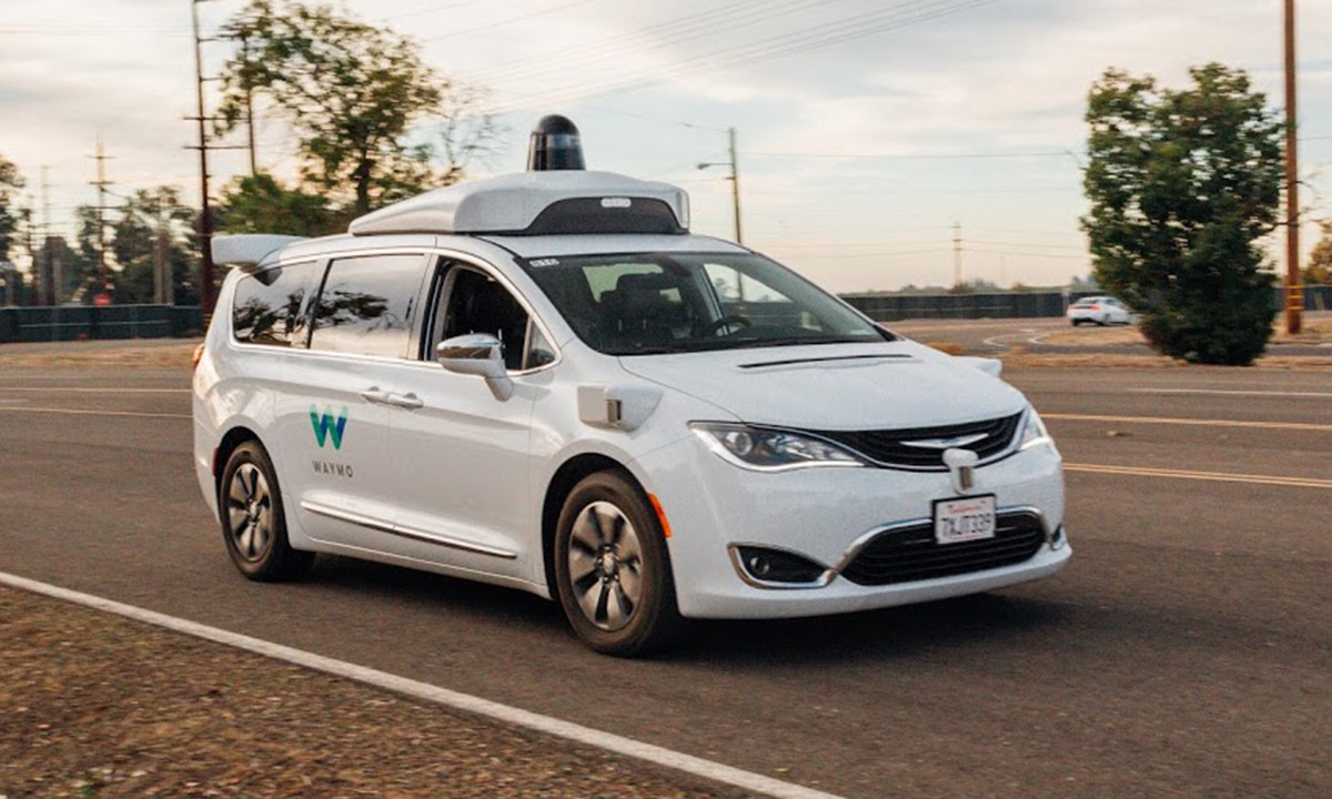 Waymo's self-driving car. The company is considered the clear frontrunner in the space.