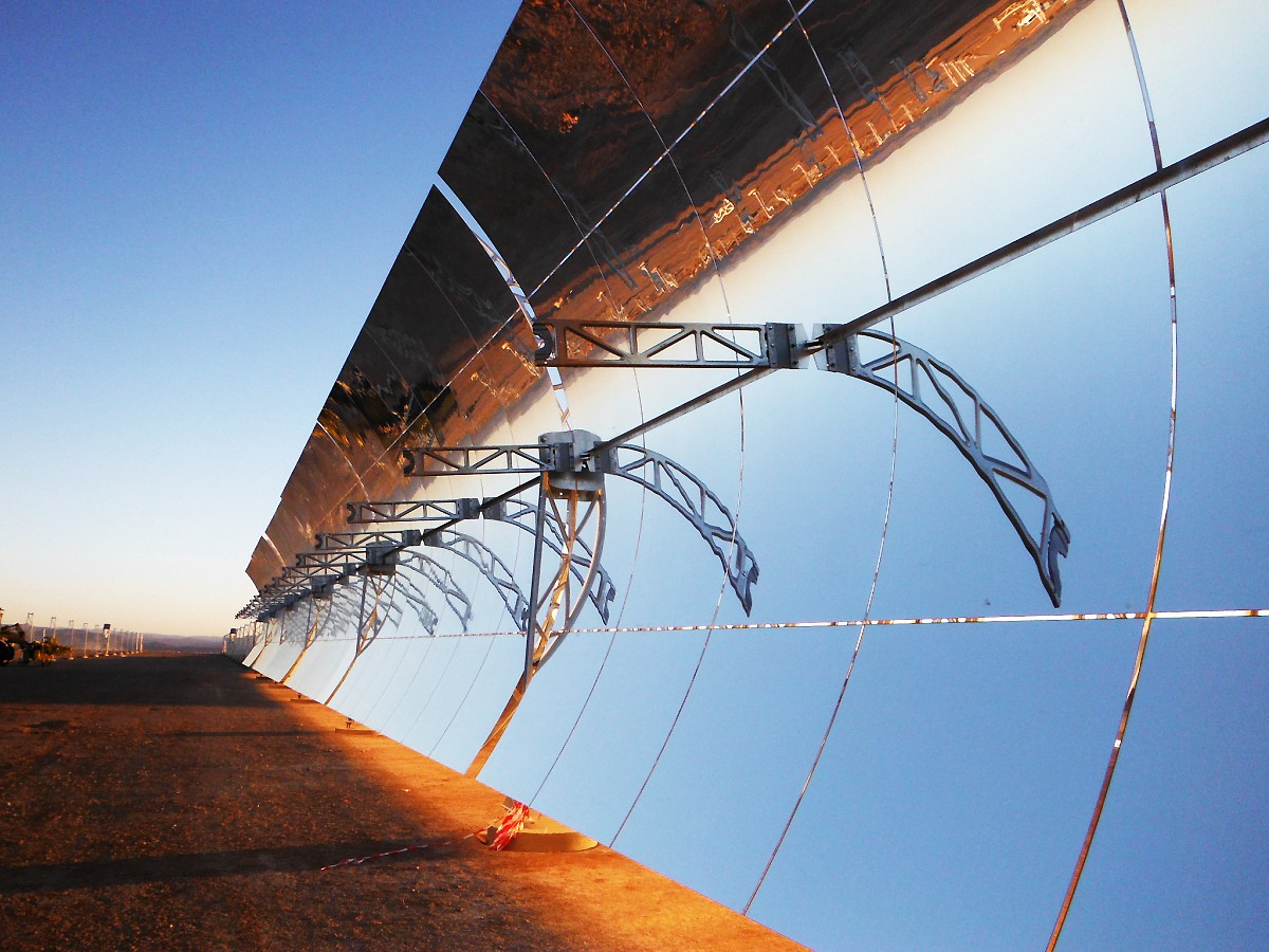 Presenting the world's largest concentrated solar power plant