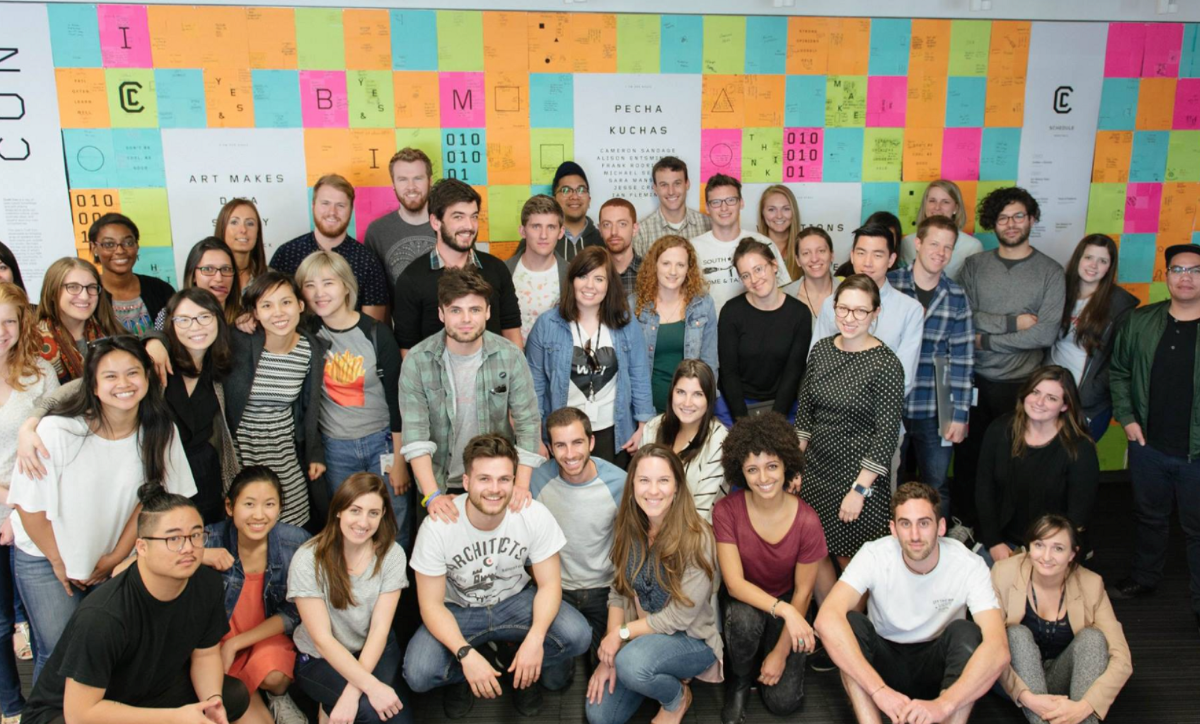 A global cohort of designers came to the Austin studio to attend the Summer 2016 session of Patterns.