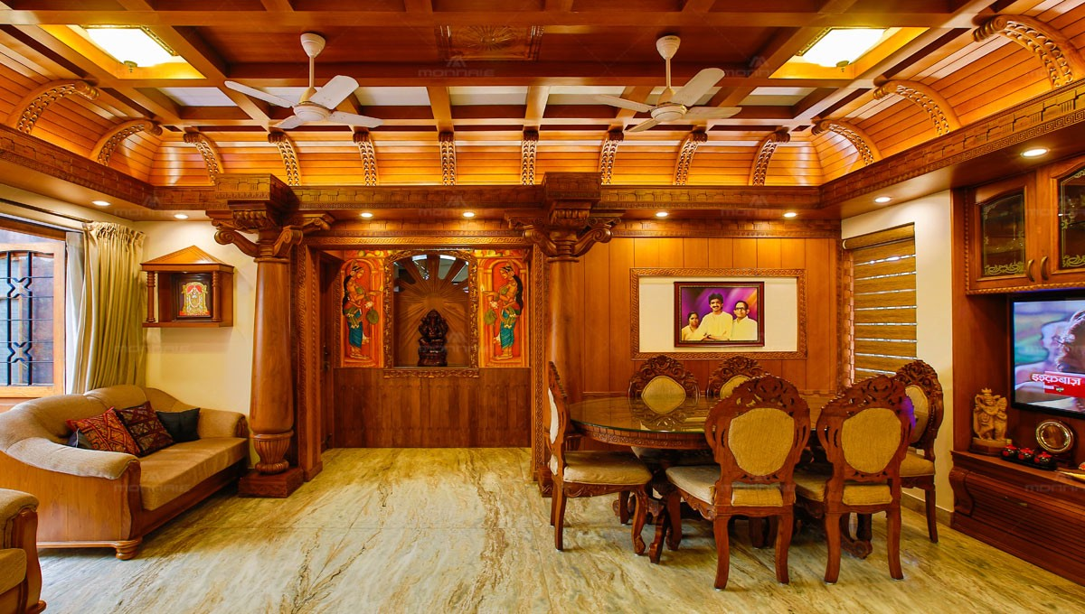 Kerala Traditional Style This 15 Year Old Renovated Home On A By Monnaie Architects Interiors Medium