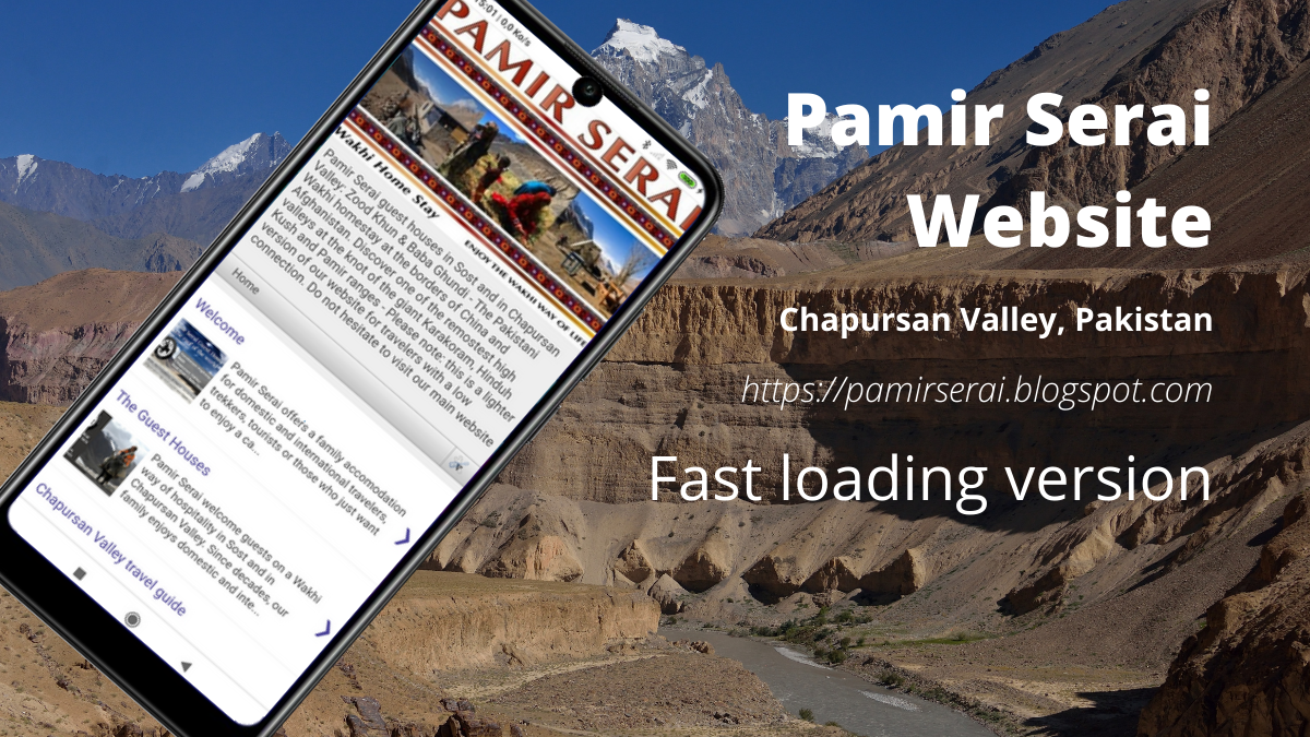 Pamir Serai fast website Chapursan valley