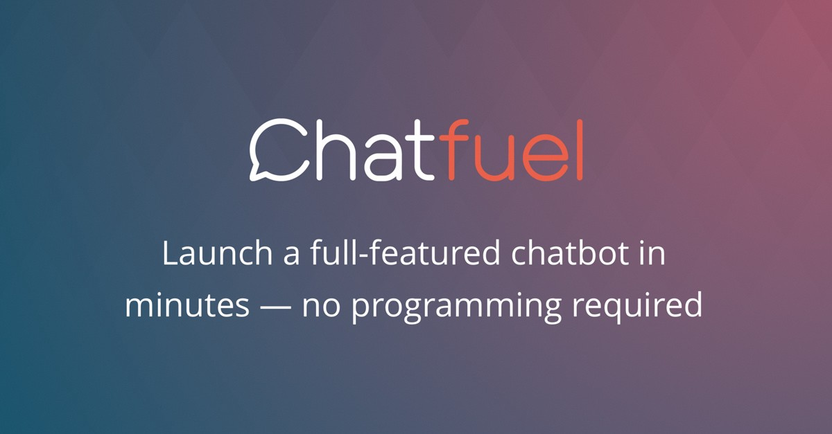Build a bot on Chatfuel for Facebook Messenger - Bot Tutorials