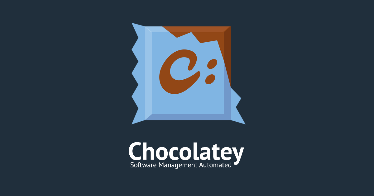 chocolatey package manager