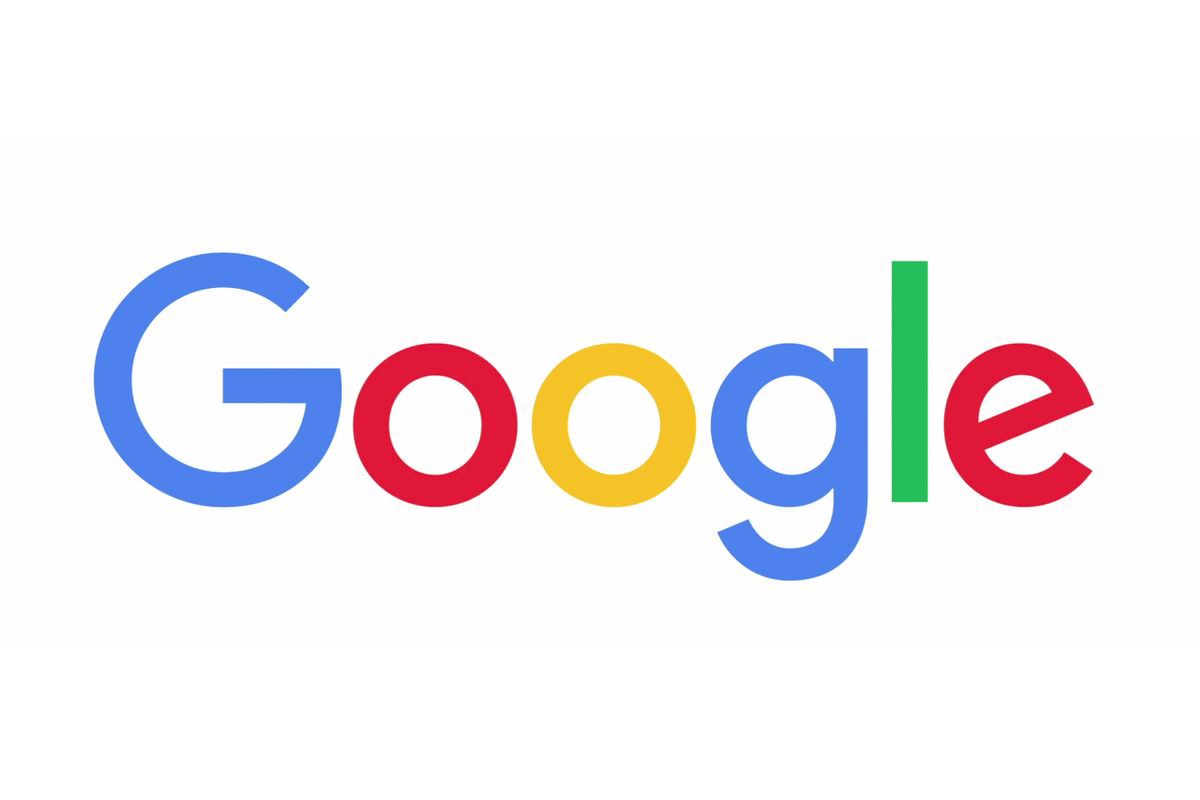 An image of the company Google's logo.