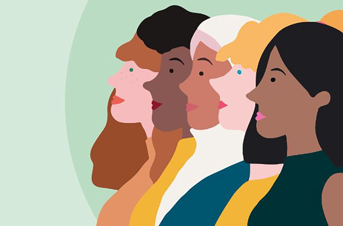 an illustration of a group of diverse women. copyright: IPPF
