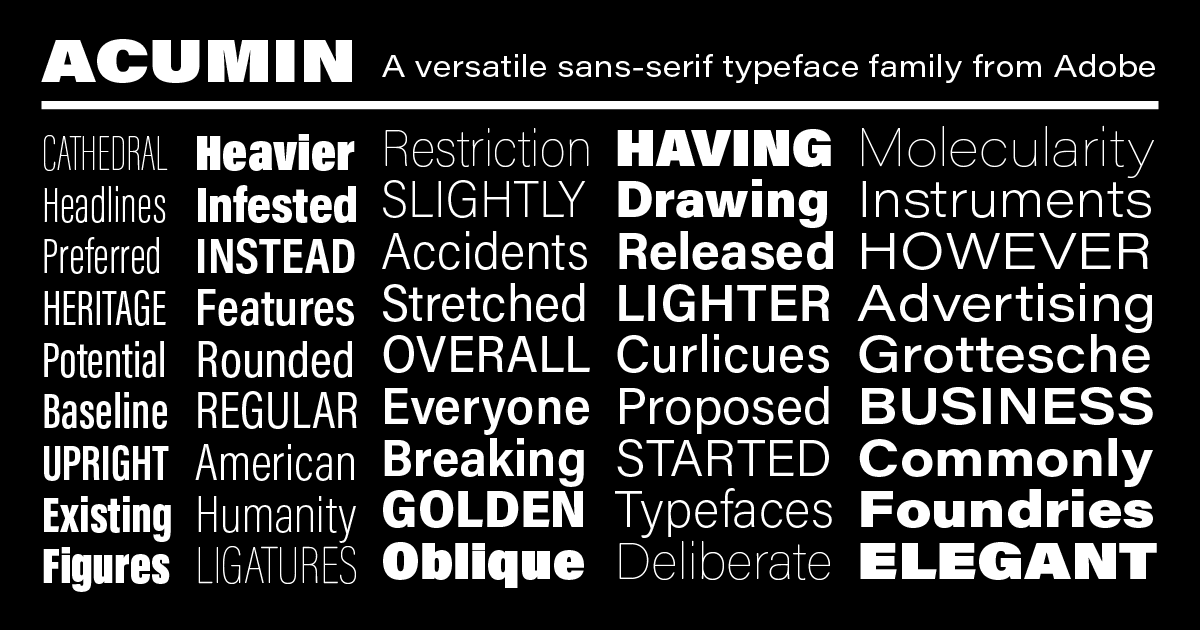 17 Modern Alternatives to Helvetica for Designers - Joe