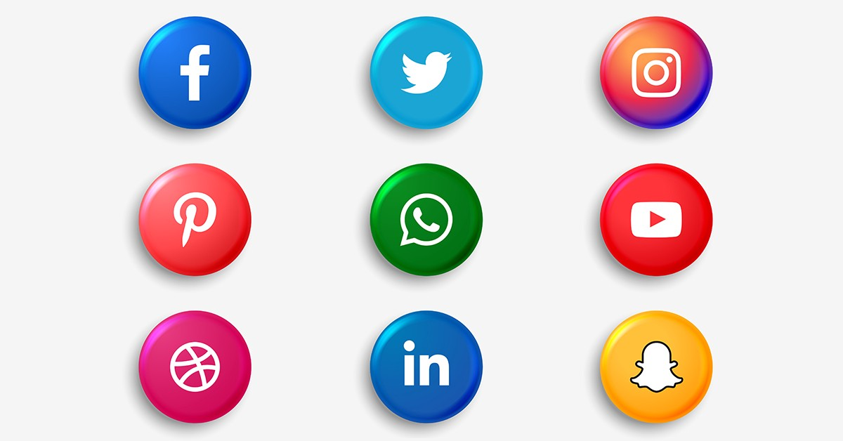 Image depicting social media platforms icon