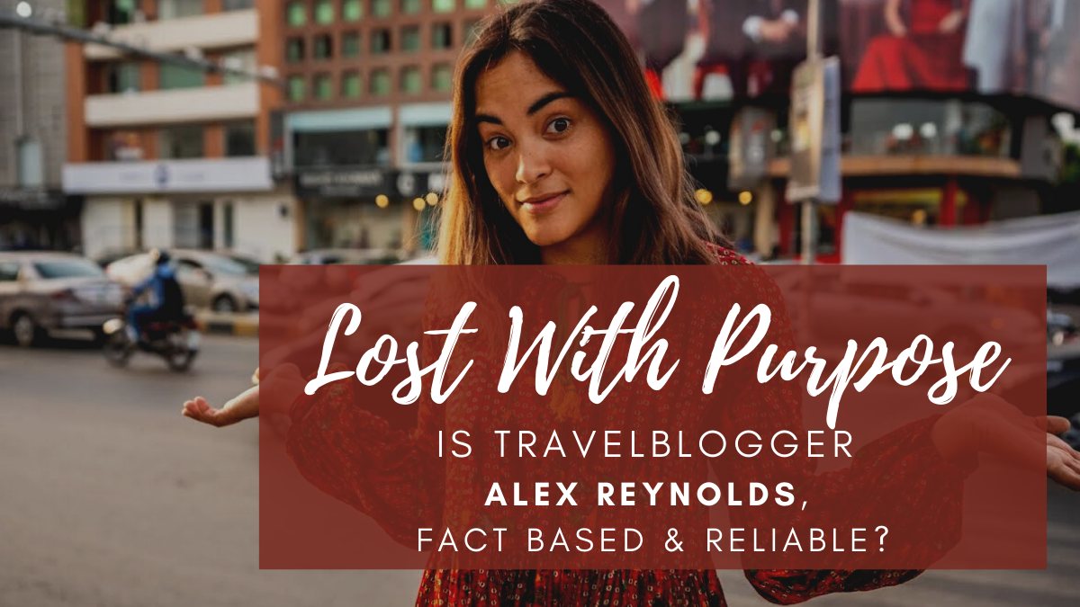 Alex reynolds, lost with purpose