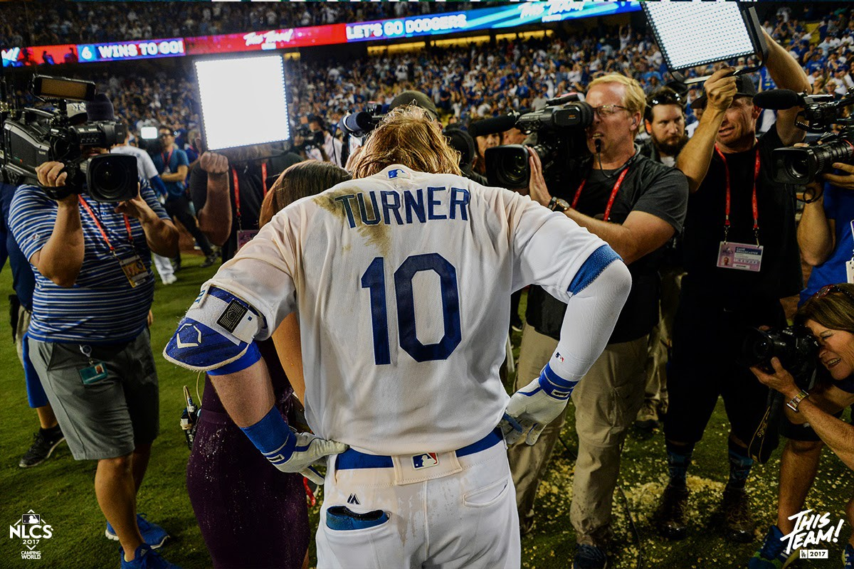 new product 2c0ef 9ae07 In their words: Nine Dodgers take you inside Justin Turner's ...