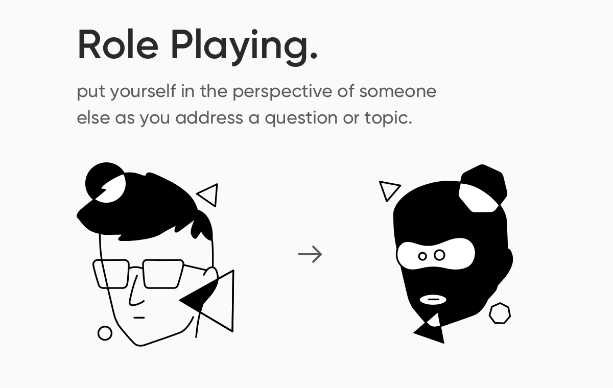 role-playing-generate-ideas
