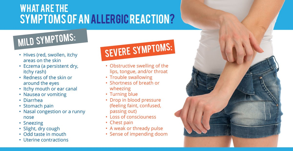what allergies need an epipen