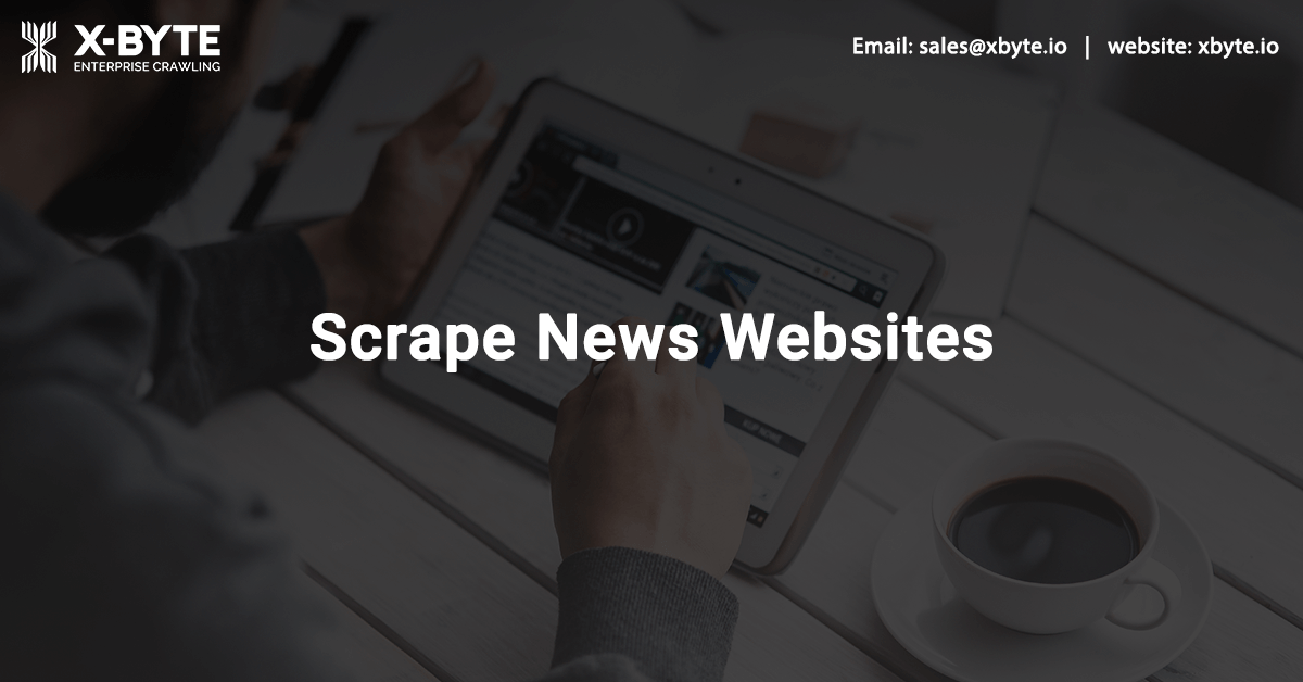 News Website Data Scraping Services